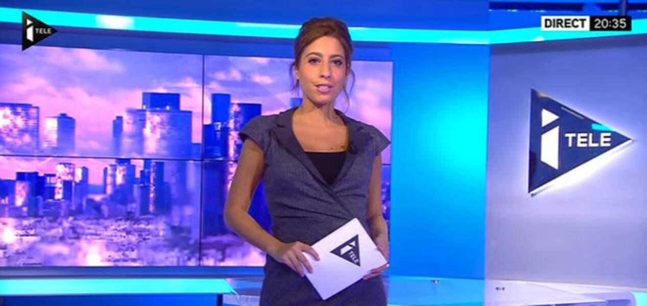 Top : La robe cache-coeur de Léa Salamé
