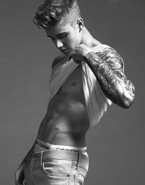 La campagne sexy de Justin Bieber pour Calvin Klein