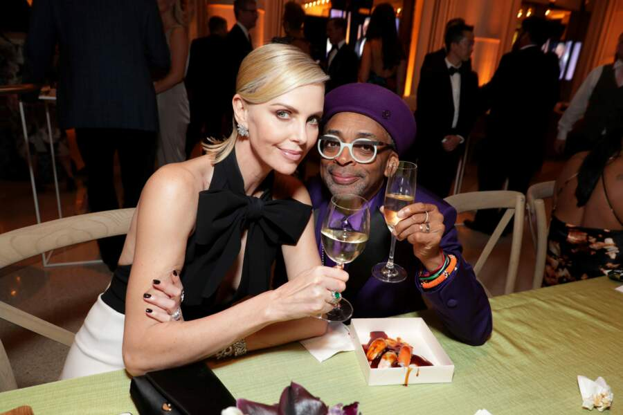 Charlize Theron et Spike Lee posey !