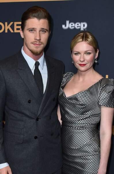 Les acteurs Kirsten Dunst et Garrett Hedlund, en couple depuis 2011.