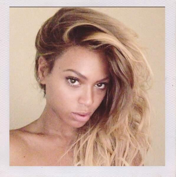 Encore une star sans maquillage ? Cette fois-ci, c'est Beyoncé !