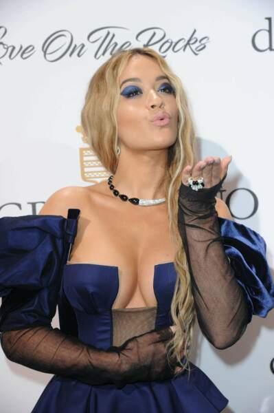Rita Ora déclare la 70ème édition des tenues sexy... oups, du Festival de Cannes... ouverte !