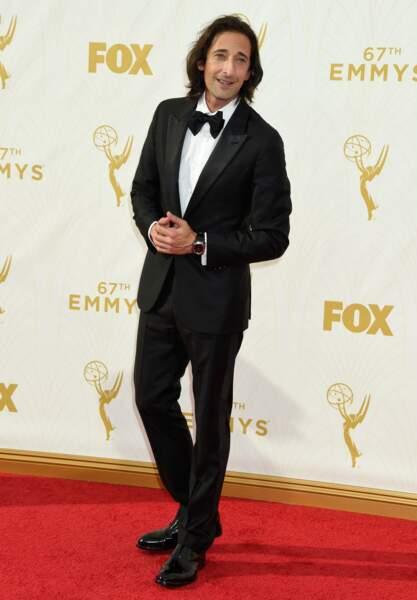 Adrien Brody nommé pour avoir tenu le rôle-titre dans la série Houdini
