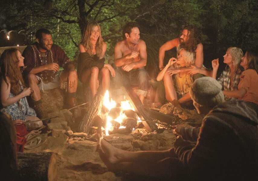 En mode hippie dans Peace Love et plus si affinités (2012)