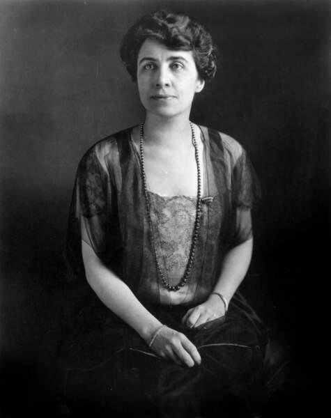 Grace Coolidge est la première First Lady (1923/1929) à s'être exprimée aux actualités filmées parlantes