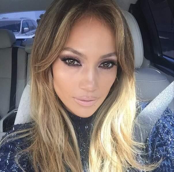 Sympa ce selfie Jennifer Lopez