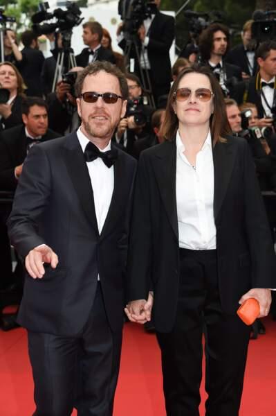 Tricia Cooke et Ethan Coen à la montée des marches pour la projection de Mad Max : Fury Road