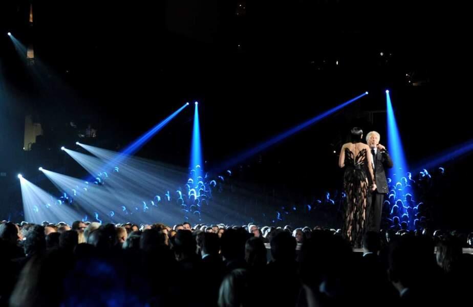 De dos : Jessie J et le myhthique Tom Jones