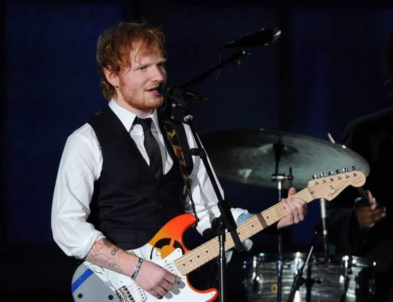 Ed Sheeran a lui aussi poussé la chansonnette