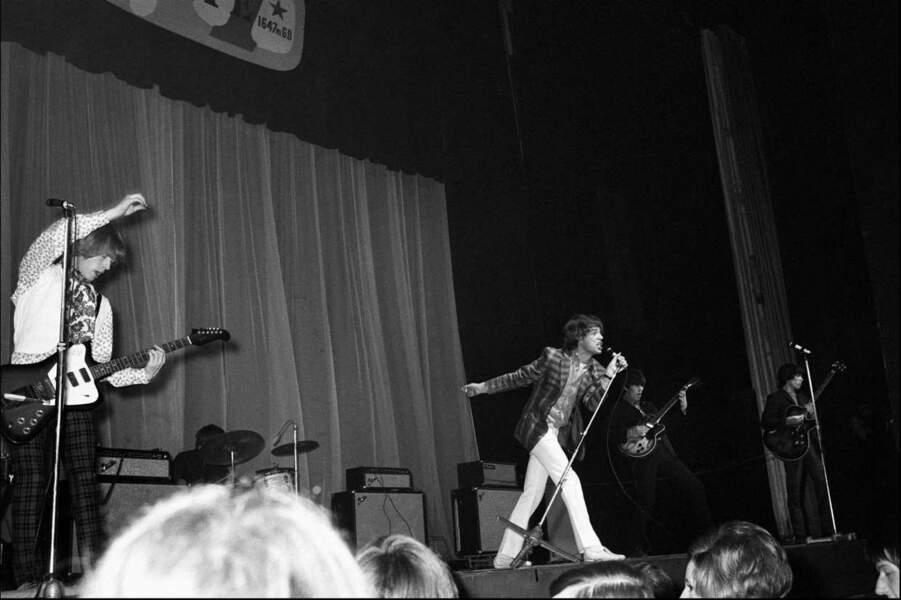 Les Rolling Stones à l'Olympia de Paris, le 29 mars 1966