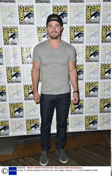 Stephen Amell, le héros de Arrow
