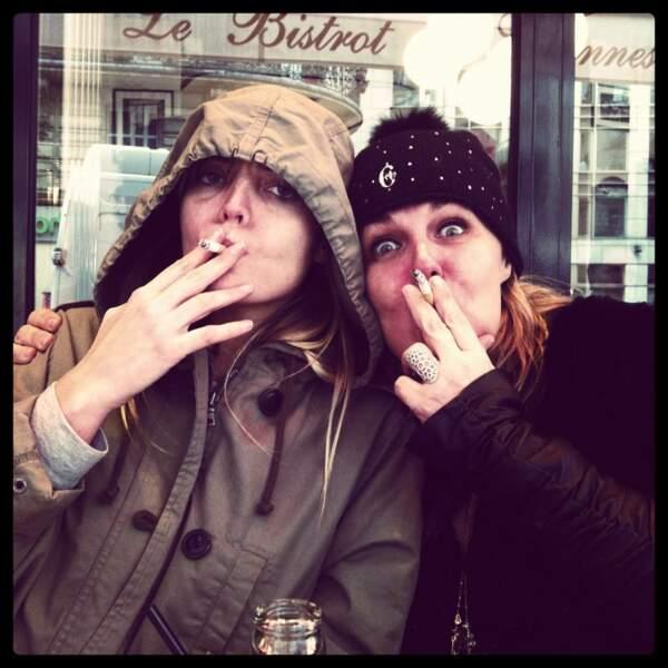 Le danger du tabac en une photo (avec Valérie Damidot)