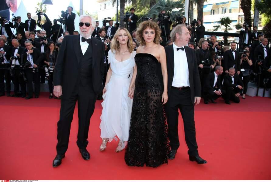 Les membres du jury, dont Donald Sutherland et Vanessa Paradis