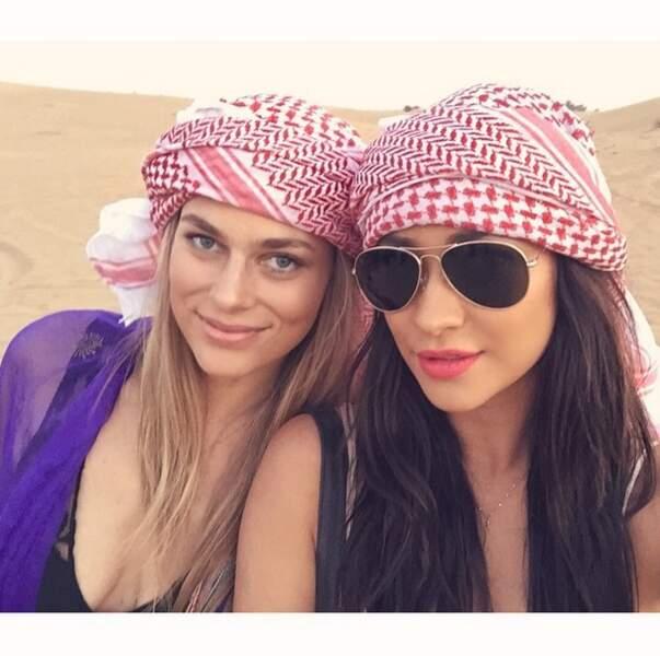 Shay Mitchell était également à Dubaï !