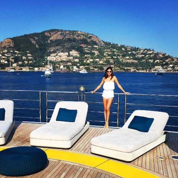 Wahou, cette vue à Cannes derrière Sara Sampaio !