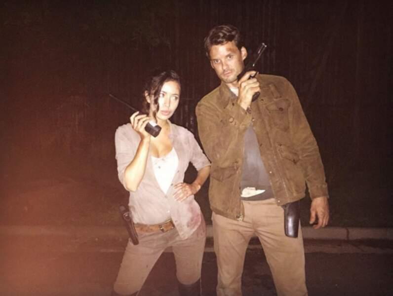 Christian Serratos et Austin Nichols prochainement dans les rôles d'agents secrets de choc et de charme ?