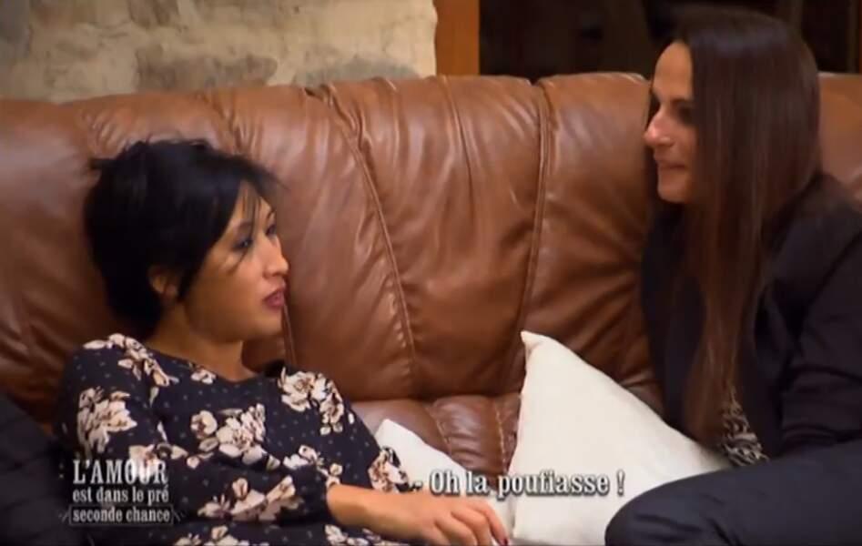 """""""Oh la pouffiasse"""". Ca se confirme : c'était une brillante idée d'inviter Nadine, l'ex jalouse"""