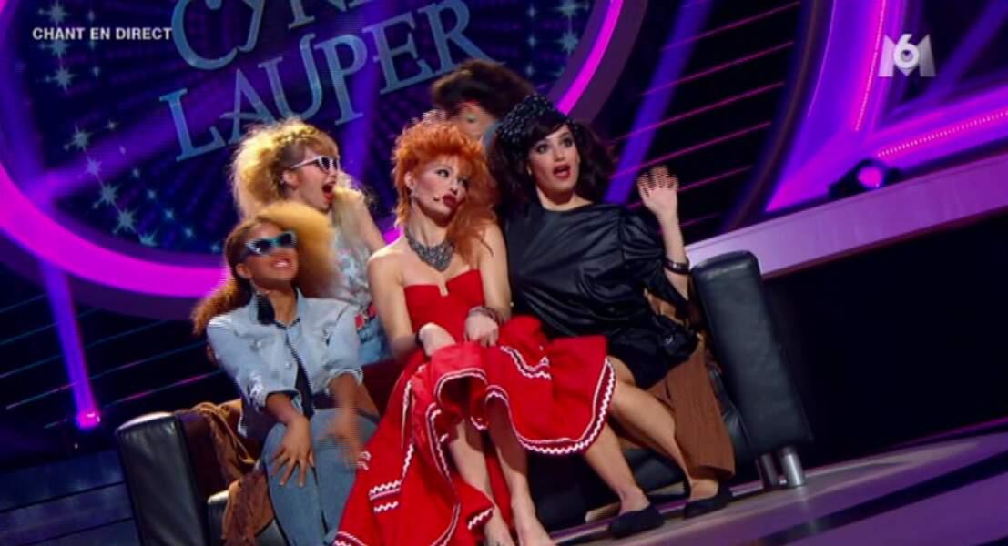 """Réponse : une autre """"Girls"""", Cyndi Lauper !"""