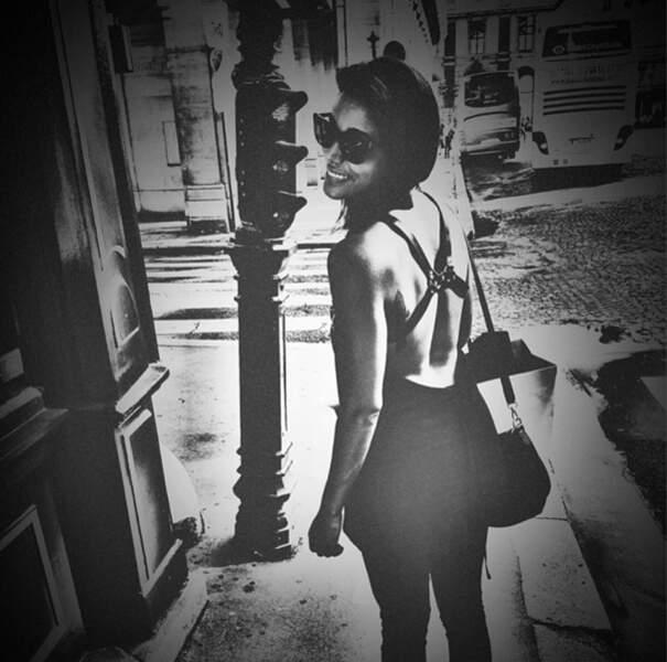 Sh'ym, elle, est radieuse en noir et blanc !