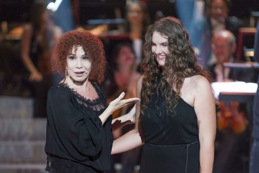Mareva a eu la chance de pousser la chansonnette à côté d'une star du lyrique !
