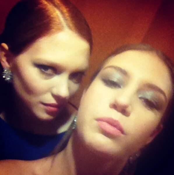Duo de choc récompensé à Cannes en 2013 pour le film La vie d'Adèle