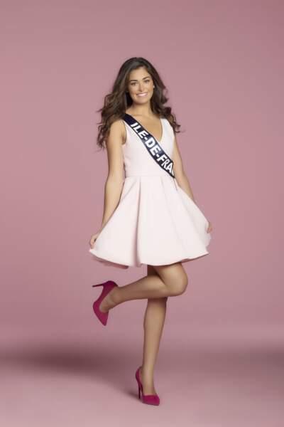 Lison Di Martino, Miss Ile-de-France