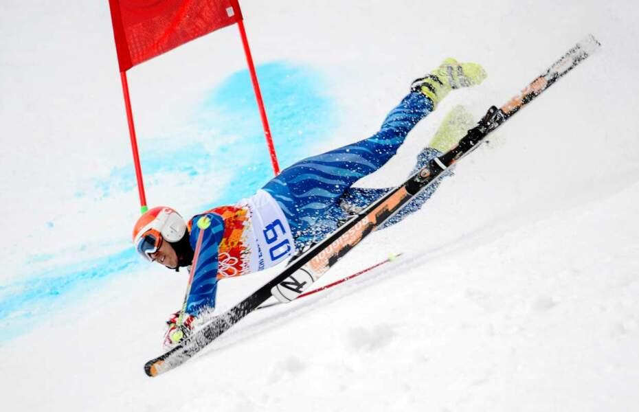 Et José Pardo Andretta (slalom géant)
