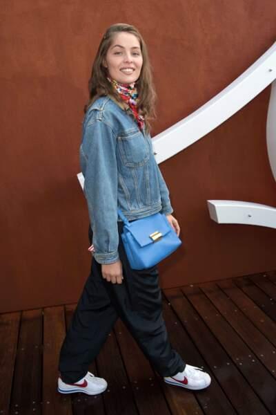 Marie-Ange Casta prend ses marques à Roland Garros