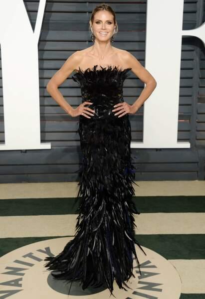 Heidi Klum, l'aigle noir ?