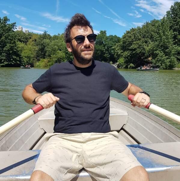 Barque à Central Park pour Laurent Ournac...