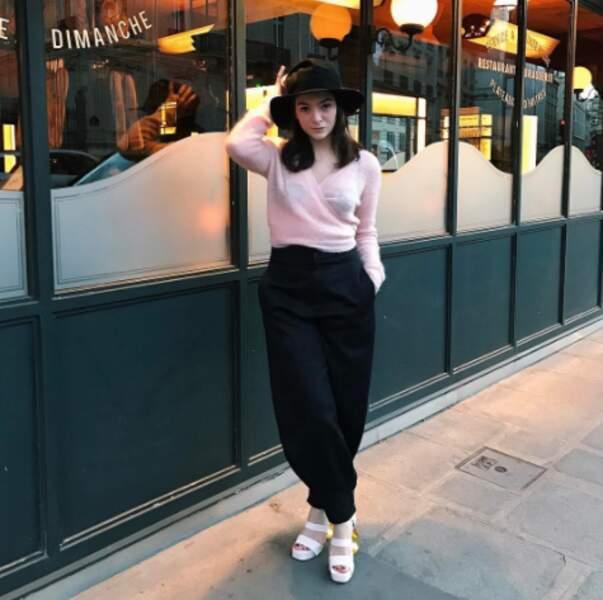 Lorde était très stylée à Paris.