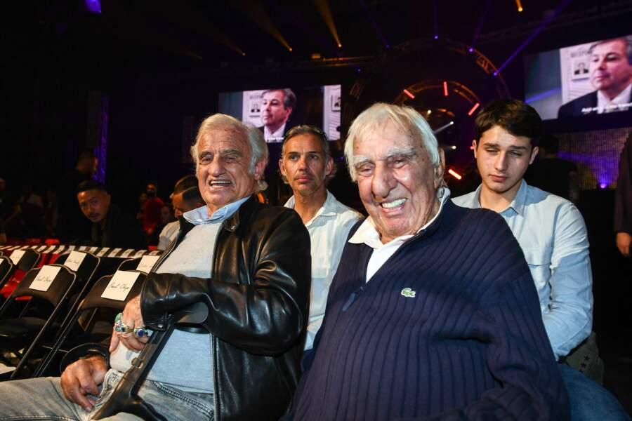 Le monde du cinéma était également bien représenté avec Charles Gérard, Jean-Paul Belmondo et son fils Paul