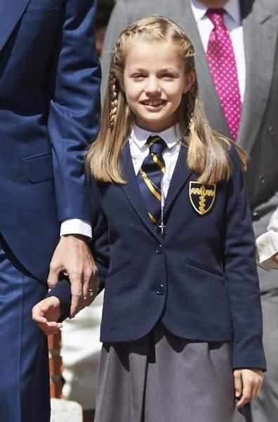 Espagne : l'infante Leonor, 10 ans, sera la toute première souveraine espagnole de l'Histoire