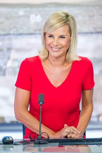 """En 2018, elle présente """"Punchline"""" sur CNews"""
