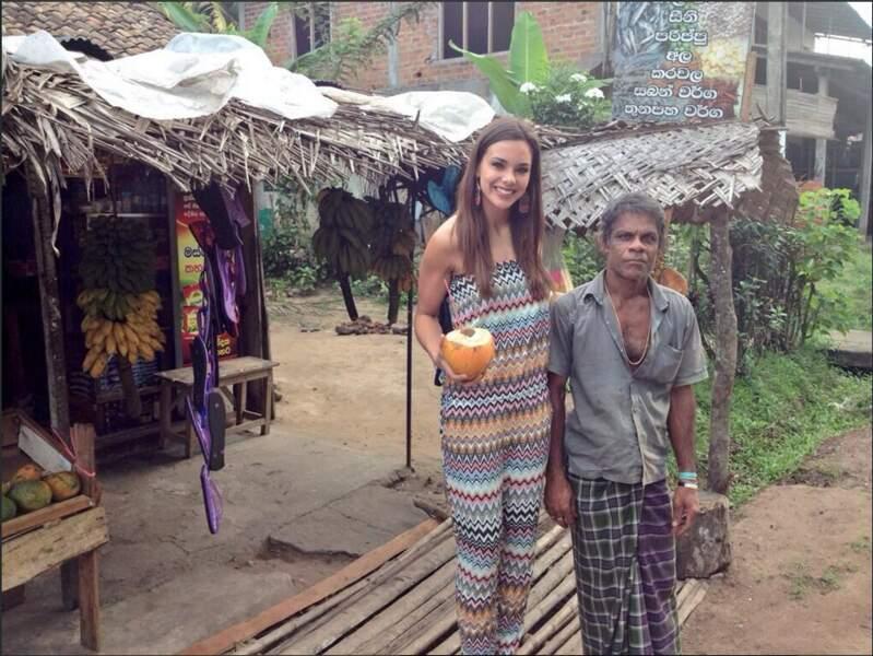 Quelle superbe Miss à la découverte du Sri Lanka
