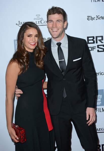 Les acteurs Nina Dobrev et Austin Stowell, en couple depuis 2015.