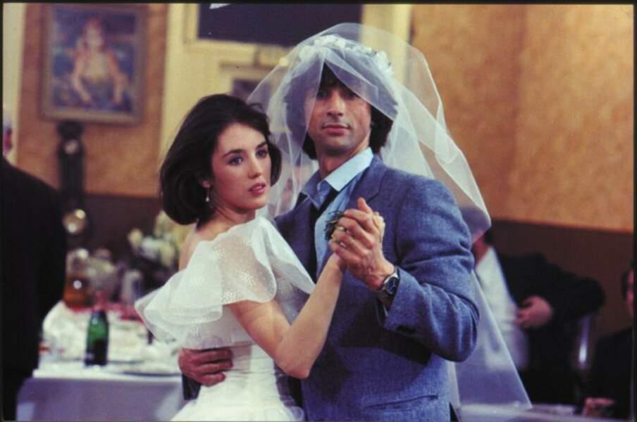 Elle rejoue avec Thierry Lhermitte dans L'année prochaine... si tout va bien (1981).