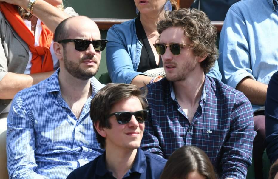 Bref… Kyan Khojandi et Baptiste Lecaplain étaient à Roland-Garros
