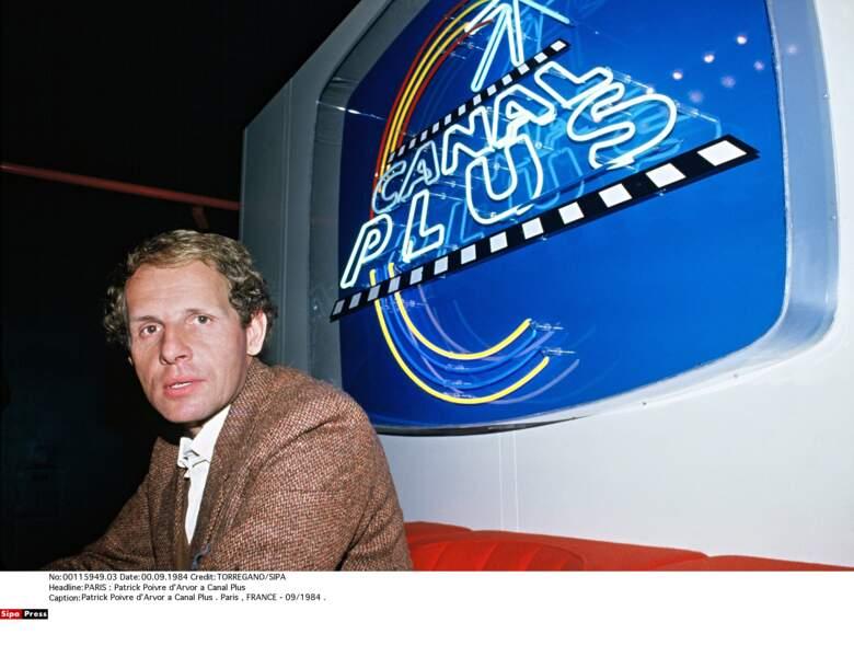 Il arrive sur Canal Plus l'année de son lancement, en 1984