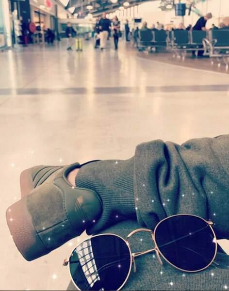L'attente est longue à l'aéroport