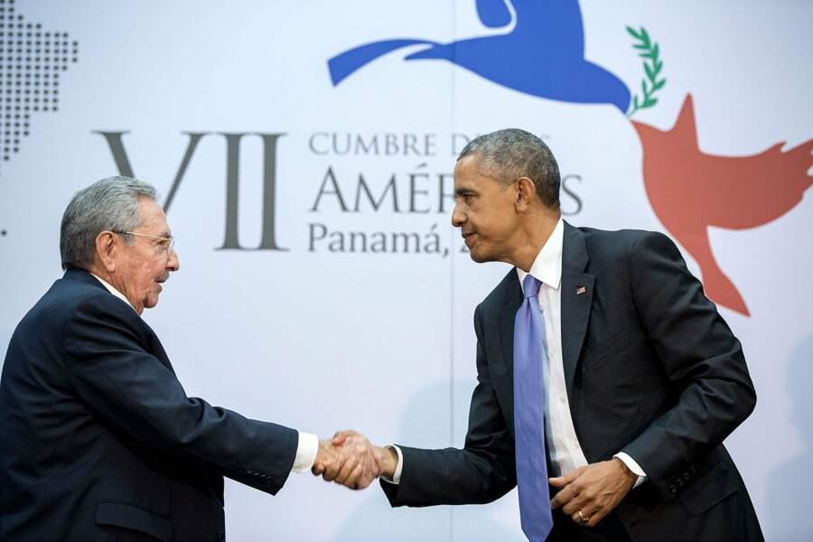 11 avril 2015 : les relations s'améliorent avec Cuba