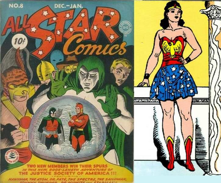Avec ses airs d'Amazone, Wonder Woman est la première super-héroïne. Girl Power !