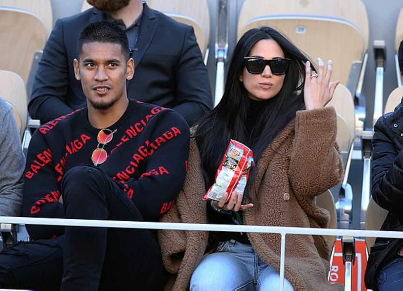 Tout comme le gardien du PSG et champion du monde Alphonse Areola, avec sa femme Marrion !