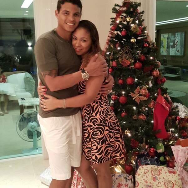 Thiago SIlva et sa femme Isabele, plus amoureux que jamais