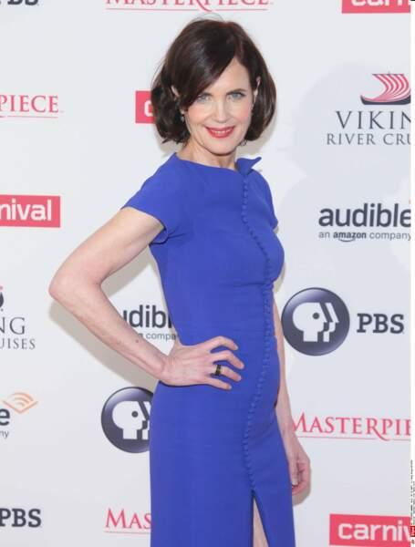 L'actrice Elizabeth Mcgovern en 2015