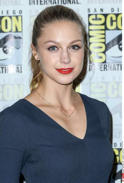 Melissa Benoist a enfilé le costume de l'héroïne Supergirl, la cousine de Superman !