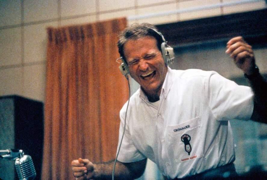 Robin Williams dans Good Morning, Vietnam en 1987