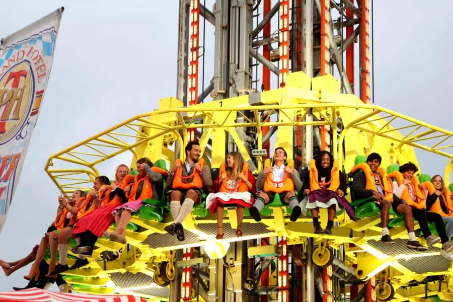 L'Oktoberfest est aussi la plus grande fête foraine du monde. Toute l'équipe s'est envoyée en l'air !