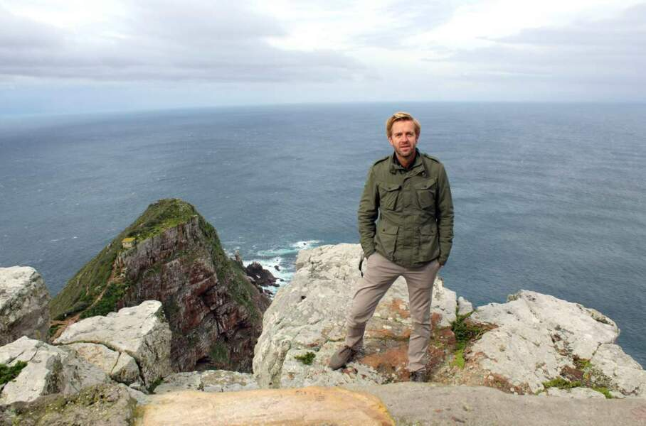 Autre veinard : Alexandre Delpérier, qui a présenté Amazing Race en 2013. Ici en Afrique du Sud...