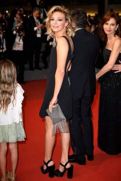 L'actrice italienne Jasmine Trinca n'est pas passée inaperçue sur le tapis rouge